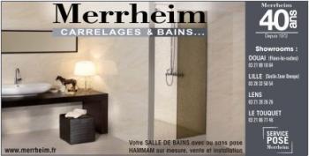 Campagne publicitaire : Merrheim 40 ans