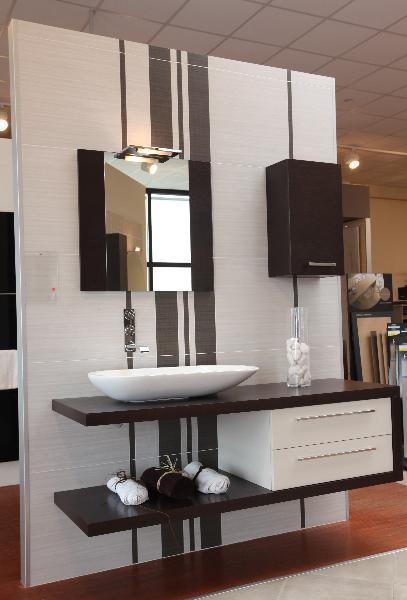 meuble salle de bain bois graphique