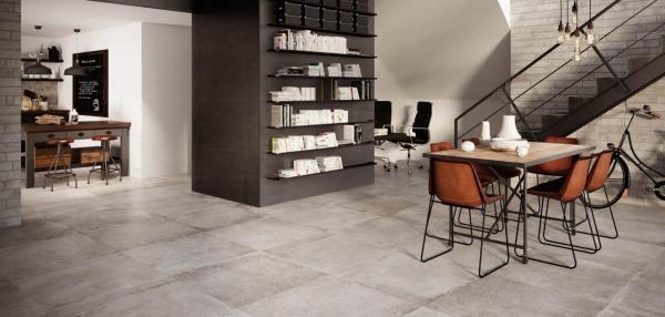 Carrelage sol intérieur imitation pierre naturelle