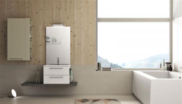 Meuble de salle de bains - idéal pour petit espace