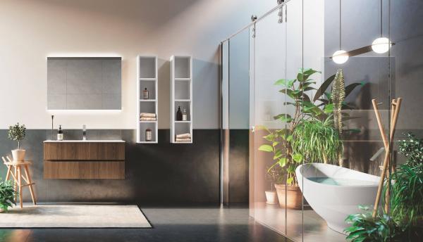 Salle de bains - ambiance tropicale