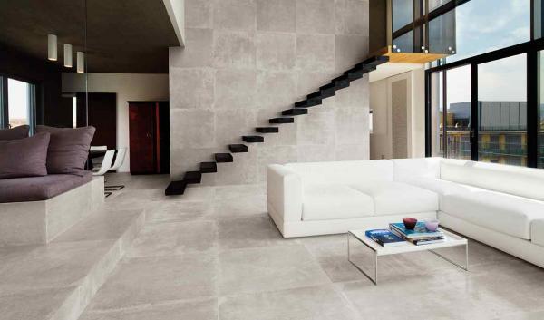 Carrelage sol & mur effet pierre