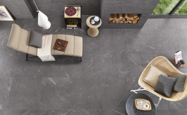 Carrelage sol imitation pierre pour intérieur et pour extérieur
