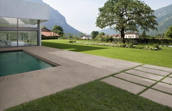 Terrasse sur plots