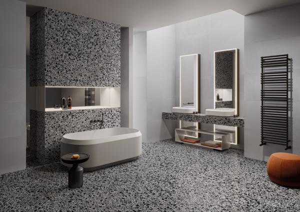 Réalisation salle de bains design dans le Nord-Pas-de-Calais