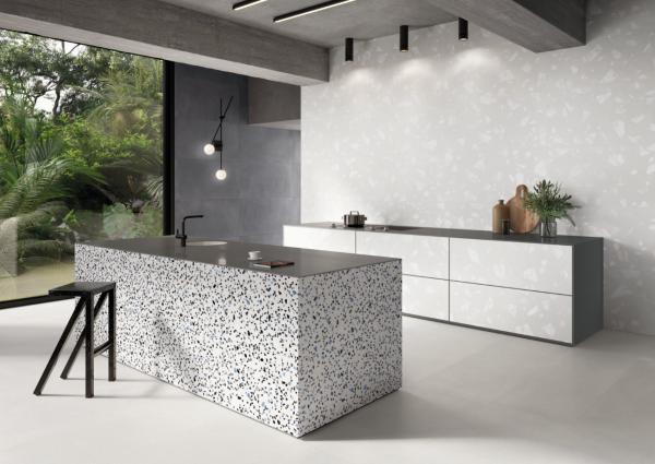 carrelage atypique pour revêtir les murs de votre cuisine.