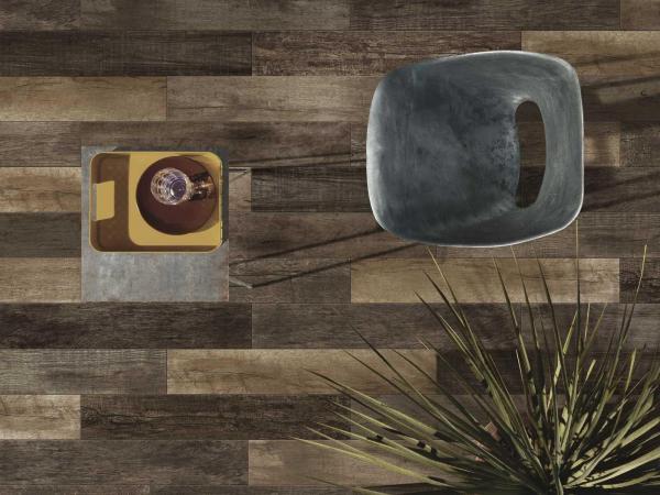 Carrelage sol en grès cérame imitation bois