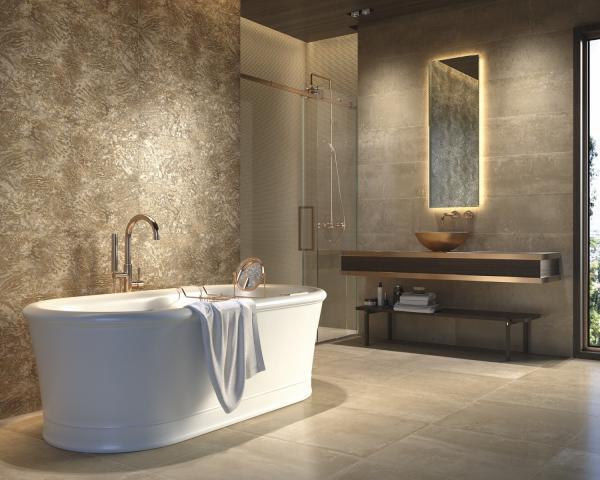 Baignoire îlot - Salle de bains tendance