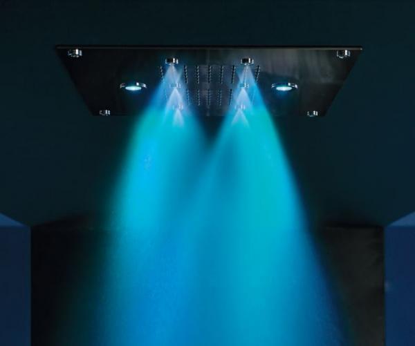 Ciel de pluie avec système de chromothérapie