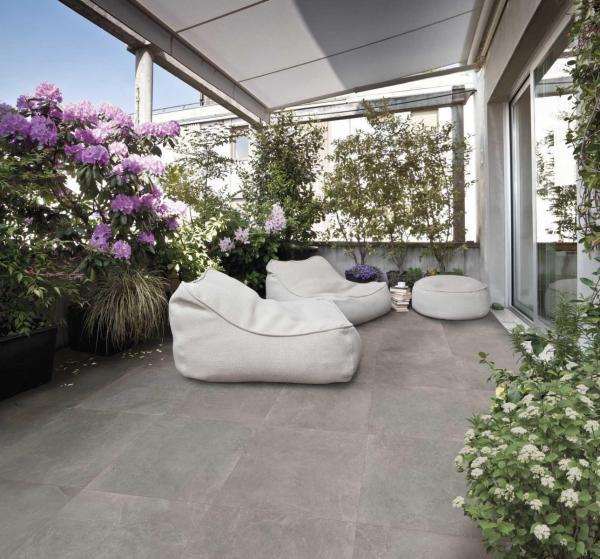 Carrelage pour terrasse extérieure