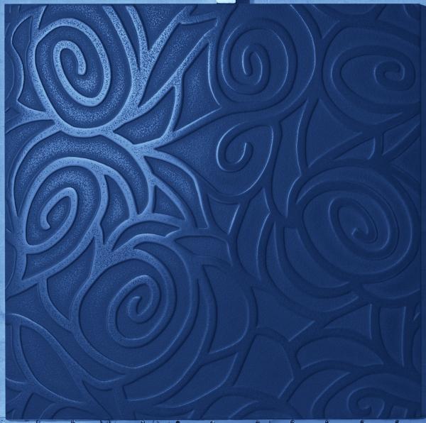 Volutes bleues