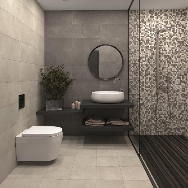 Salle de bains tendance et épurée