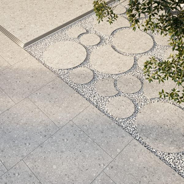 Carrelage terrasse - Pas japonais