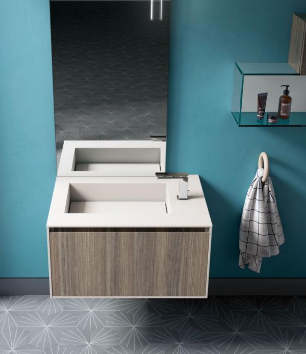 Meuble pour petite salle de bains Nord-Pas-de-Calais, Picardie