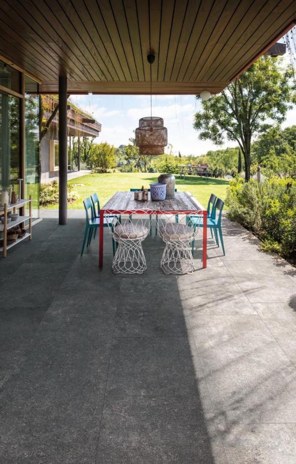 Carrelage sol terrasse extérieure