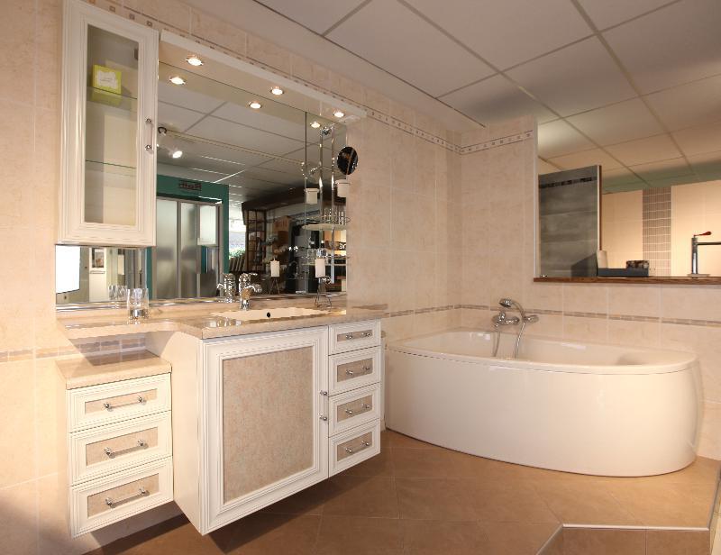 meuble salle de bain classique, lille, douai, lens, le touquet - Salle De Bain Classique