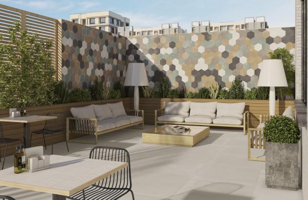Carrelage terrasse extérieure