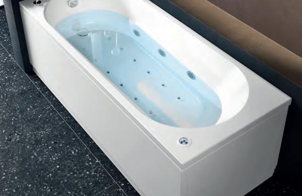 Baignoire hydromassage rectangulaire