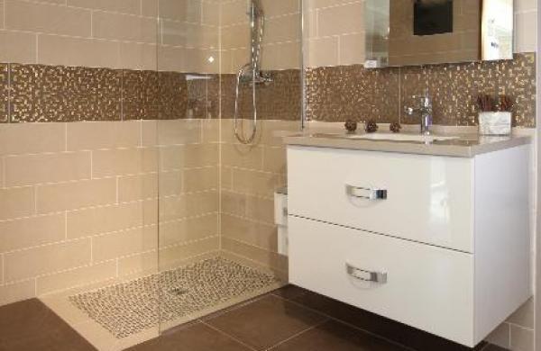 Douche l 39 italienne lille nos r alisations salle de bain - Salle de bain hammam ...