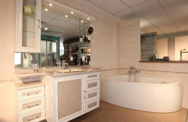 Meuble salle de bain classique