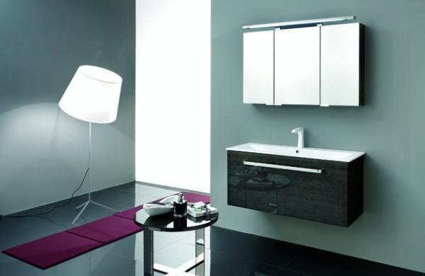 Meuble salle de bains gain de place faible profondeur
