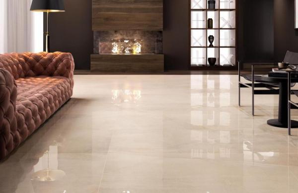 Carrelage sol imitation marbre