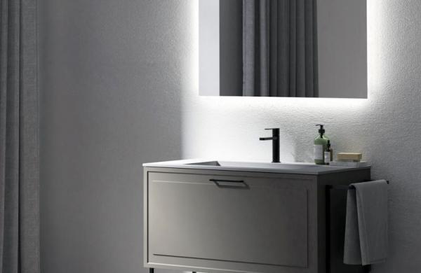 Meuble de salle de bains - vasque unique