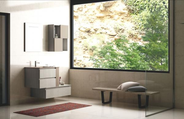 Meuble de salle de bains cosy