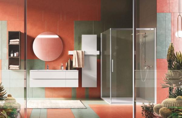 Meuble salle de bains  épuré blanc