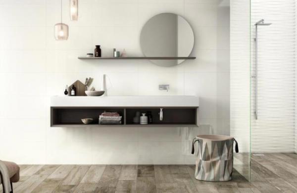 Salle de bain tendance et épurée
