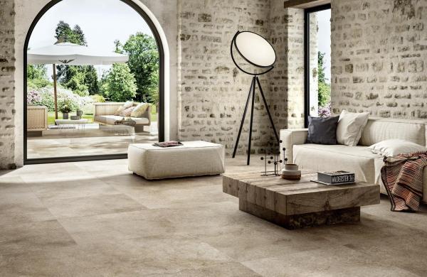 Carrelage sol imitation pierre