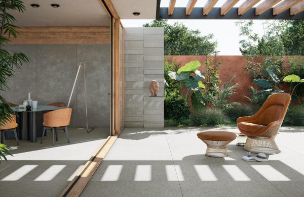 Carrelage extérieur grand format - Terrasse sur plots