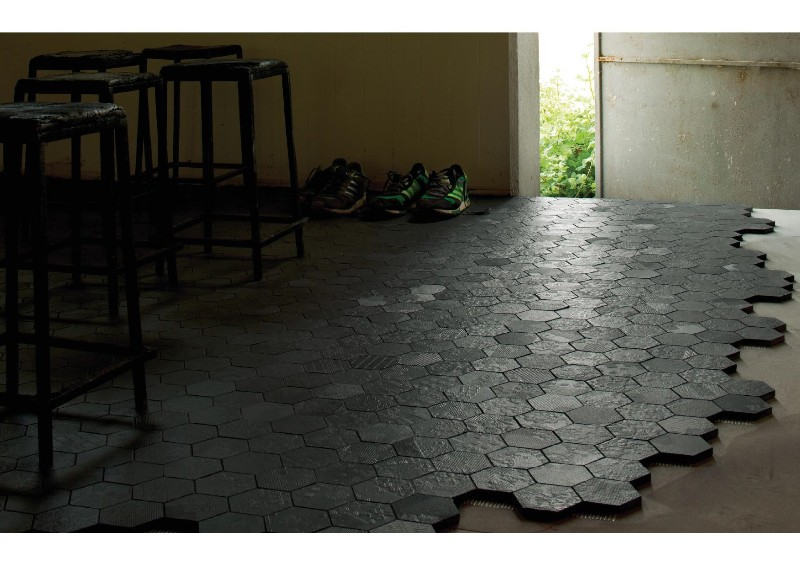 Pose carrelage hexagonal cz26 jornalagora for Carrelage hexagonal couleur